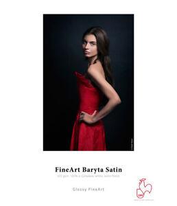 Hahnemuhle Fine Art Baryta Satin 300 gsm FineArt Inkjet Paper