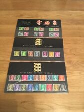 Royal Mail  Definitive Stamps Regional + 2 X RM Definitives