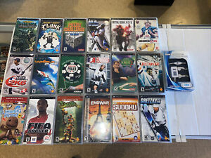 Psp games lot Of 18