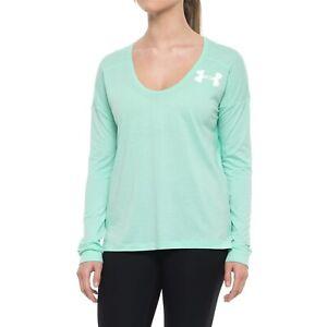 Womens Under Armour Favorite Wordmark HeatGear T-Shirt  Size: S NWT