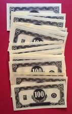 Operation Game Replacement Money Lot/24 $100s Game Pieces Parts
