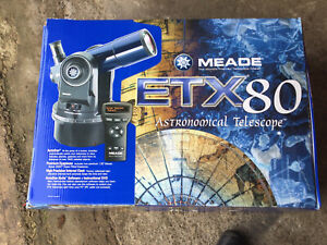 Meade ETX80 Astranomical Refractor Telescope
