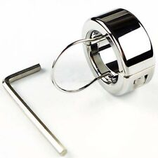 Stainless Steel Ball Stretcher Testicle Weights Stainless Steel Locking Ring