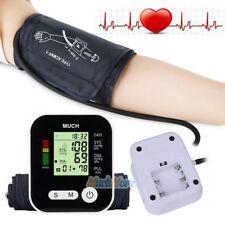 Digital LCD Arm Blood Pressure Pulse Monitor Health Care Upper Sphygmomanometer