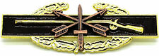 SPECIAL FORCES US Army Combat Infantry Badge Insignia CIB BROWN GOLD