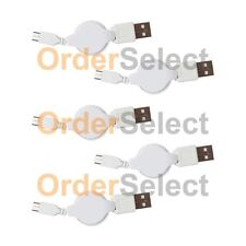 5 NEW HOT! Micro USB Retract Battery Charger Cable Cord For Android Cell Phone