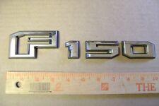 F-150 chrome & black plastic letter emblem name plate Ford truck F 1 5 0
