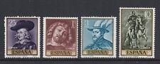 Spain - SG 1495/8 - u/m - 1962 - Rubens Paintings