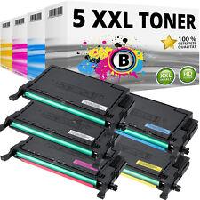 5x XL TONER für Samsung CLP620ND CLP670N CLP670ND CLX6220FX CLX6250FX Set