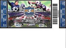 2006 Music City Bowl Ticket Stub - Clemson vs Kentucky