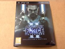 Star Wars The Force Unleashed II  Collector's Edition PS3 NEW & Factor Sealed