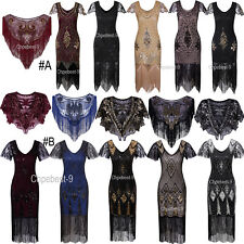 Prom Dresses 1920s Flapper Dress Gatsby Sequin Finge Dresses Party Evening Gowns