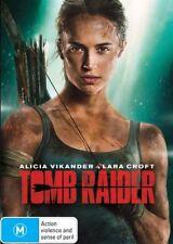 Tomb Raider (DVD, 2018) Ex rental