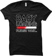 Baby Loading...Please Wait - Pregnant Wife Womens T-shirt
