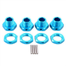 1/8 RC Buggy Blue Hex 17mm Alloy Wheel Hubs For Kyosho Hpi Arrma Traxxas Losi
