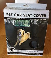 New listing Brooklyn Pet Car Seat Cover, Fits most cars and Suv back seats, Nib