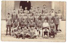 British Soldier in Khaki Uniform & Pith Helmets RP Postcard, Unused