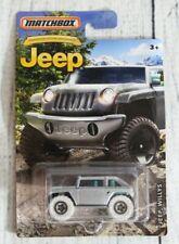Matchbox Jeep Willys Truck Mattel Toy