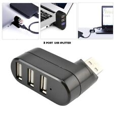 3 PORT USB HUB 2.0 SPLITTER ADAPTOR PC LAPTOP HIGH SPEED EXTENSION EXTENDER