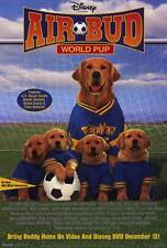 AIR BUD: WORLD PUP Movie POSTER 27x40 Kevin Zegers Dale Midkiff David Glyn-Jones