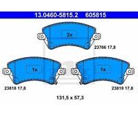 ATE Bremsbeläge Belagsatz Bremsklotz  Vorderachse  Toyota 13.0460-5815  ATE 13.