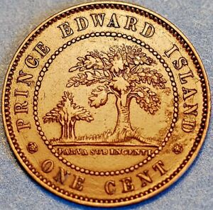 1871 Edward Island One Cent 38H
