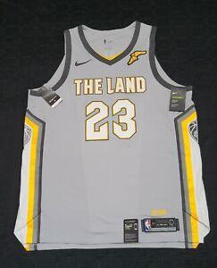 "Nike Authentic LeBron James Cleveland ""The Land"" Jersey 52 AEROSWIFT AH6048-007"