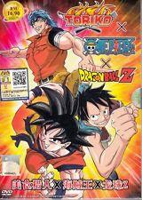 DVD JAPANESE ANIME TORIKO X ONE PIECE X DRAGON BALL Z English Sub Region All