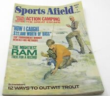 Sports Afield March 1971-Hunting Action Camping