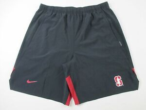 Stanford Cardinal Nike Shorts Men's Black Dri-Fit Used Multiple Sizes