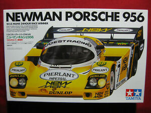 1984 Newman Joest Racing Porsche 956 1/24 Tamiya Kit Le Mans 24 Hour Race Winner