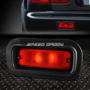 FOR 88-00 HONDA CIVIC 94-01 ACURA INTEGRA REAR BUMPER DRIVING FOG LIGHT LAMPS