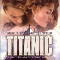 James Horner CD Titanic (Music From The Motion Picture) - Europe (M/EX+)