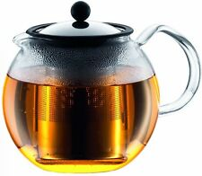 Assam Tea Press with Stainless Steel Filter, Bodum, 51 oz Shiny Lid