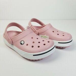 Crocs Pink Clogs Crocband II 11989-617 Lightweight Comfort Women's Sizes NWT