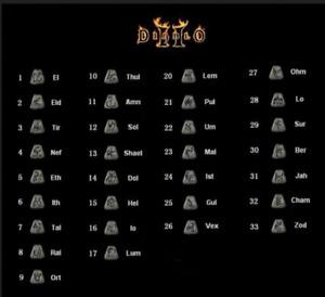 Diablo 2 Resurrected D2R SC PC - Your Choice of a Rune! ~~~RUNES~~~ All Region!