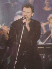 JOHNNY HALLYDAY: JOHNNY A LA TOUR EIFFEL POUR SES 40 ANS DE CHANSON - 10/06/2000