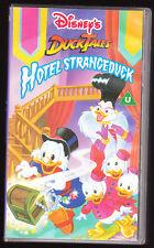 DISNEY - DUCKTALES - HOTEL STRANGEDUCK - VHS PAL (UK) VIDEO - RARE