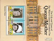 Tuvalu-Funafuti Blok 1 (compleet.Kwestie.) postfris MNH 1985 Queen Mother Elizab