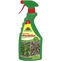 Neudorff Natural Organic Fast Acting Weed Moss Killer Ready To Use Spray 750ml