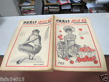 PARIS FLIRT HUMOUR ET FANTAISIE N° 304 24 novembre 1962 dessins de B DENANT *