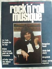 ROCK AND ROLL MUSIQUE N°1 MAGNUM  LITTLE BOB BIJOU STINKY TOYS TRANS EUROPE EXP