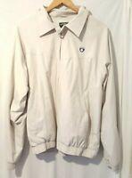 Reebok Classic Jacket Size XL, Beige, Vintage, Excellent Condition