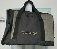 New Fly Racing Carry-On Duffle Bag Black/Grey 28-5137