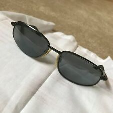 Vtg Torque by Gargoyles Mens Sunglasses Gunmetal Dark Grey Frames As Is Wearable