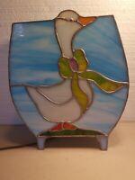 Duck Goose Lamp Light Stained Glass Custom made Handmade