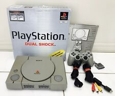 Sony Playstation Console Boxed PS1 PAL Play Station Controller COMPLETE Control