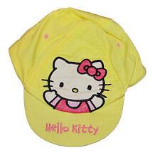 Yellow Hello Kitty Girls Baseball Cap 1-3 Years