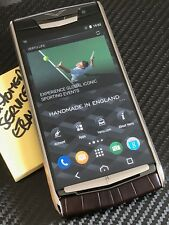 "Brand NEW Genuine Vertu Signature Touch 5.2"" Cocoa  Alligator Extremely RARE"
