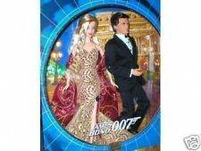 James Bond Barbie And Ken Mint In Box No Reserve